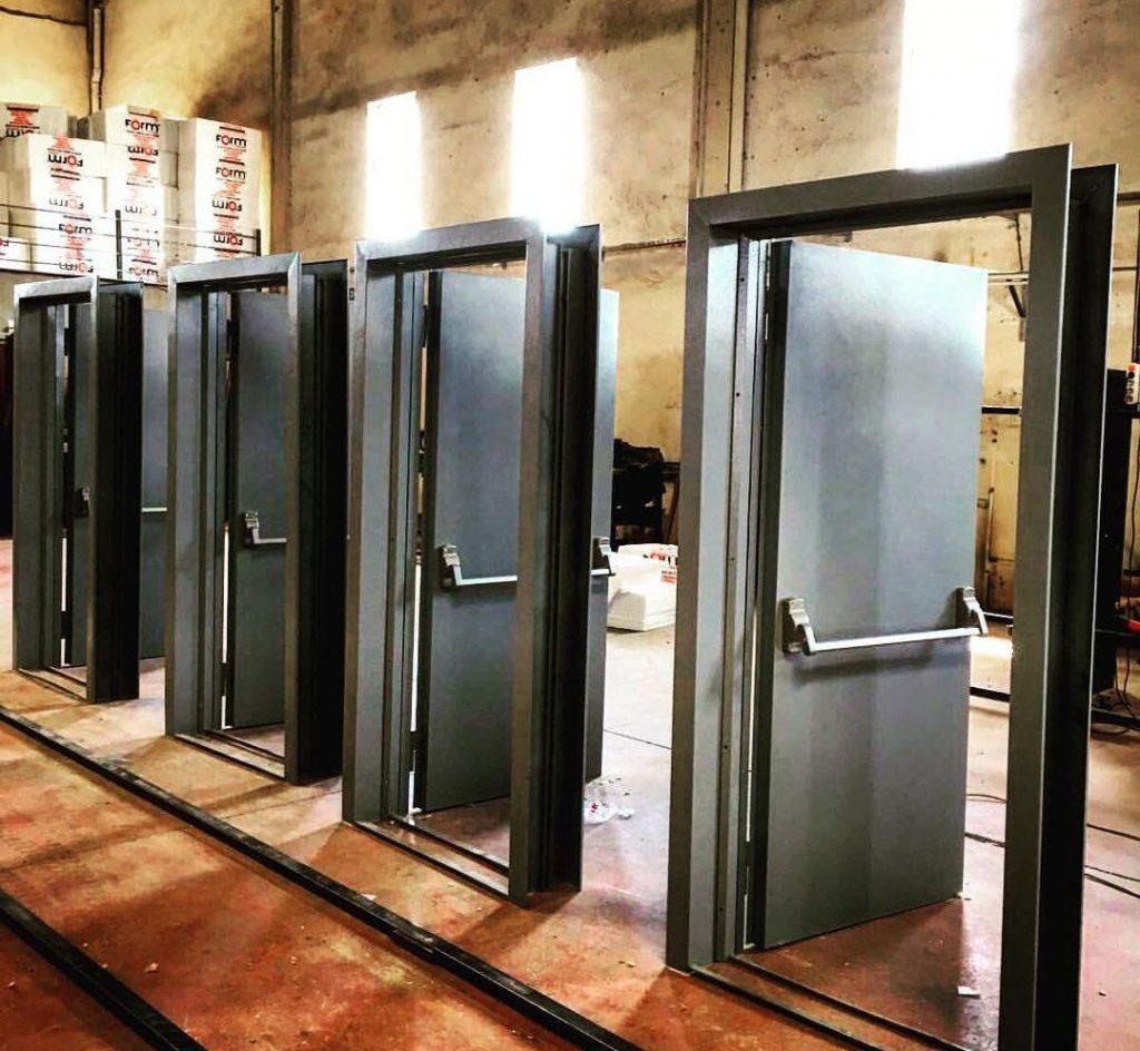 سایز و اندازه درب های ضد حریق