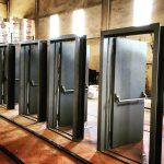 سایز و اندازه درب های ضد حریق استاندارد