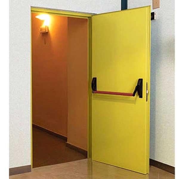 درب ضد حریق تک لنگه