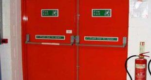 درب ضد حریق تضمینی